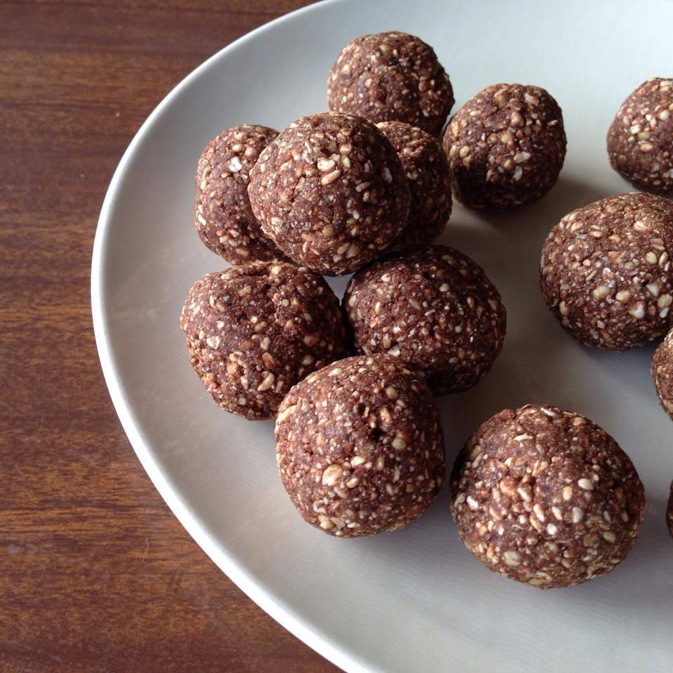 fruit nut energy balls