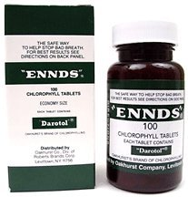 ennds chlorophyll breath tablets